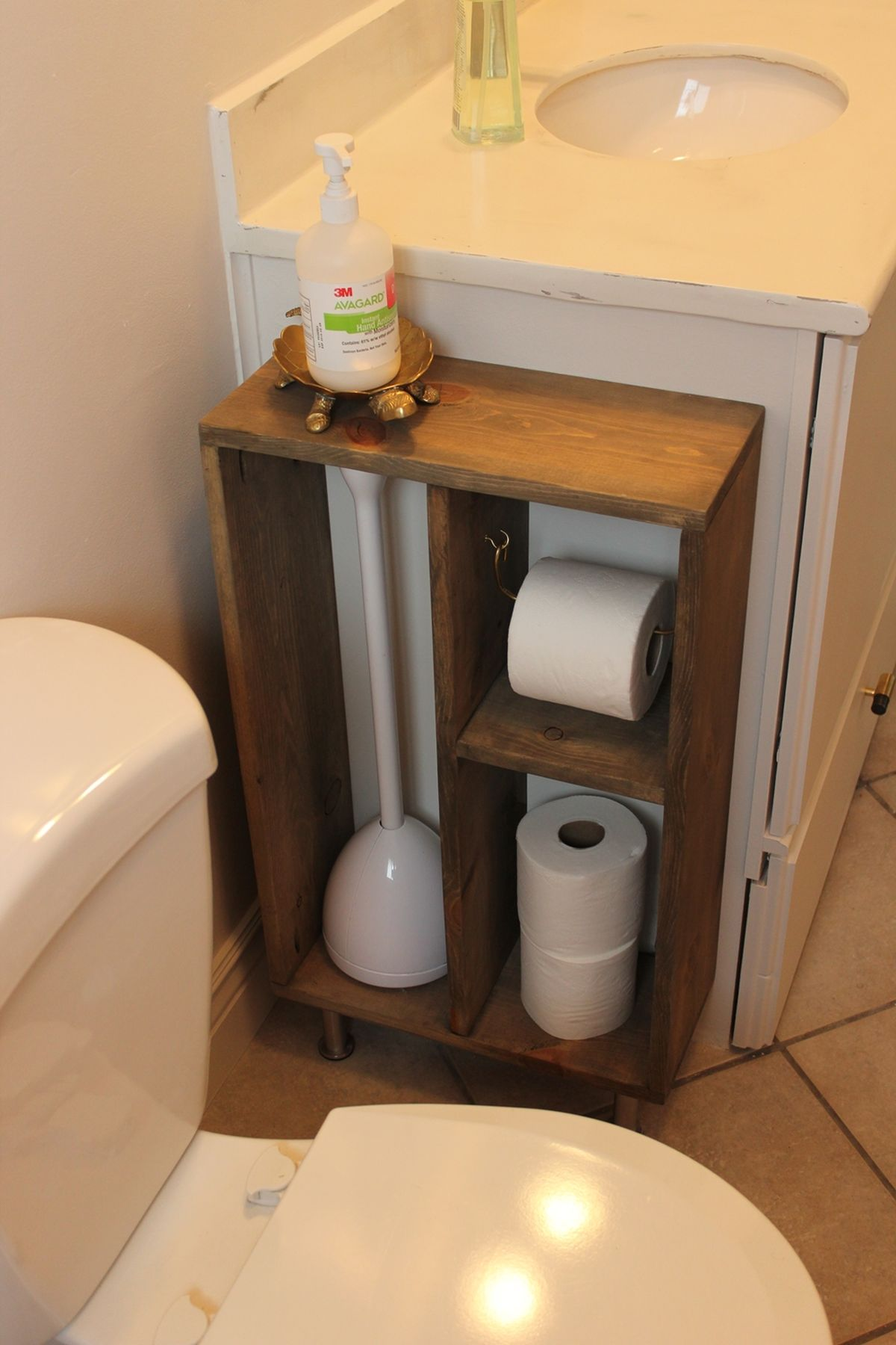 Toilet Paper Holder For Small Bathroom