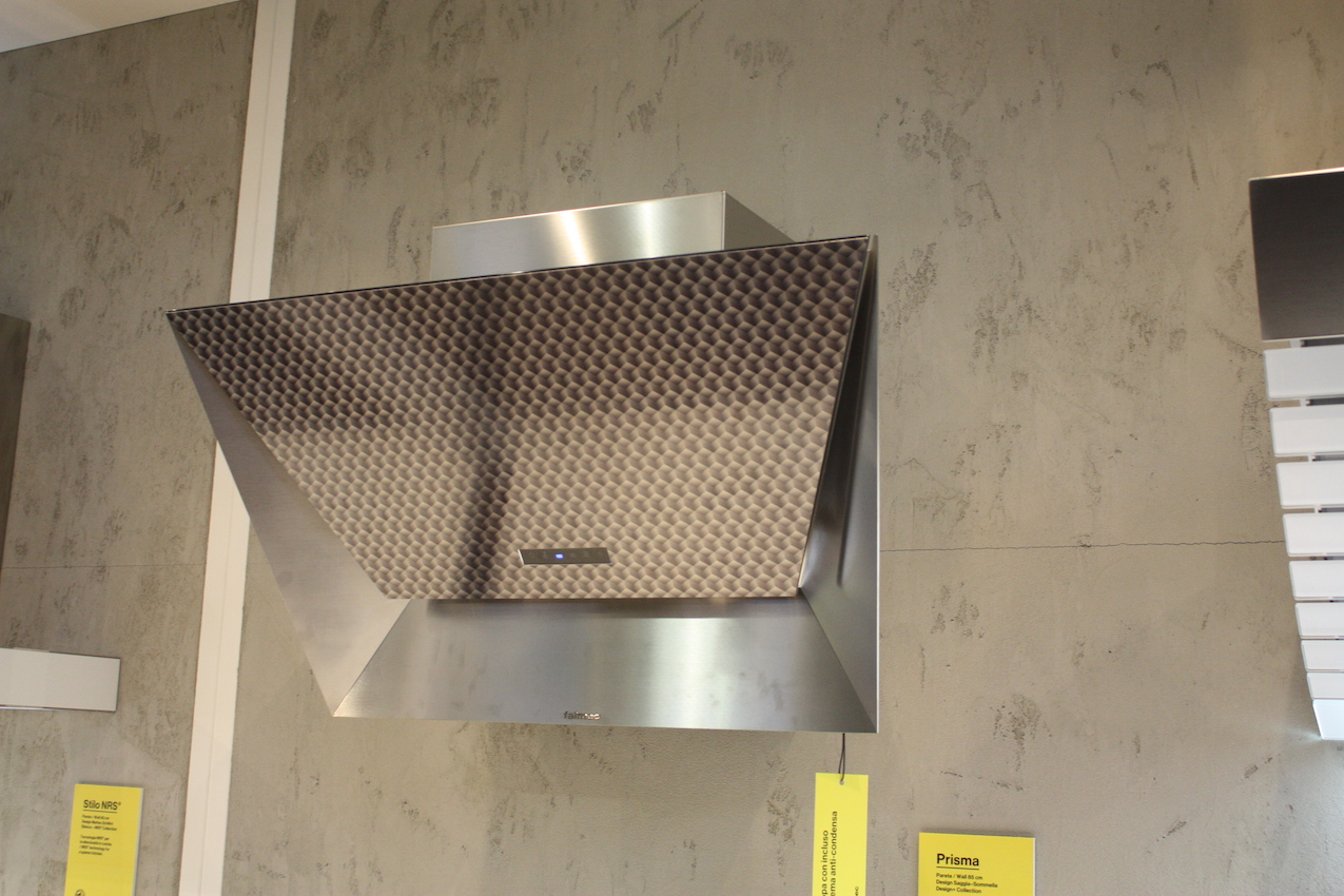 Falmec metal folded hood