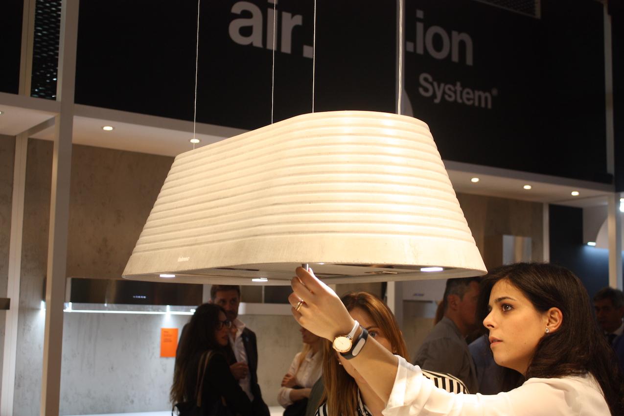 Falmec oval hood lamp