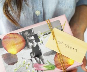 DIY With Family Photos for Mother's Day