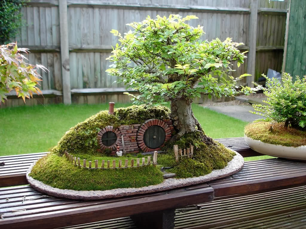 Fantasy location fairy garden