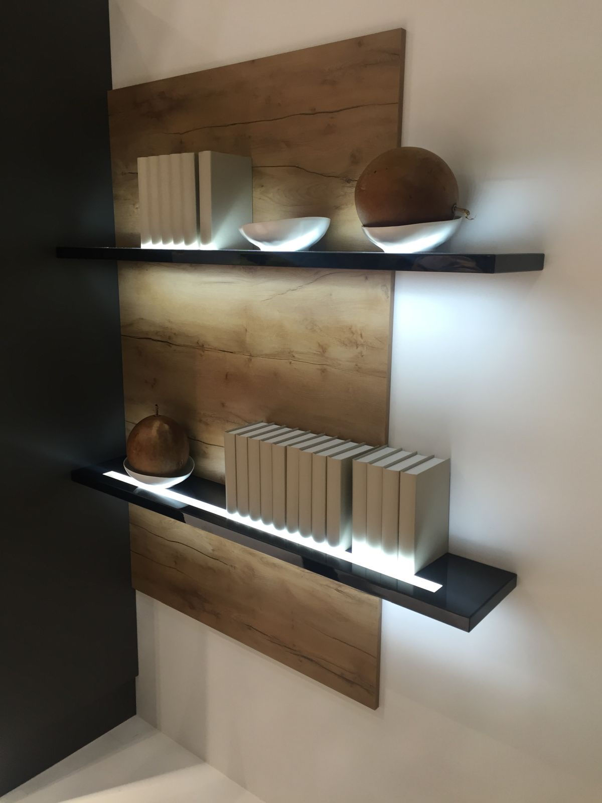 Floating shelves with Led Light