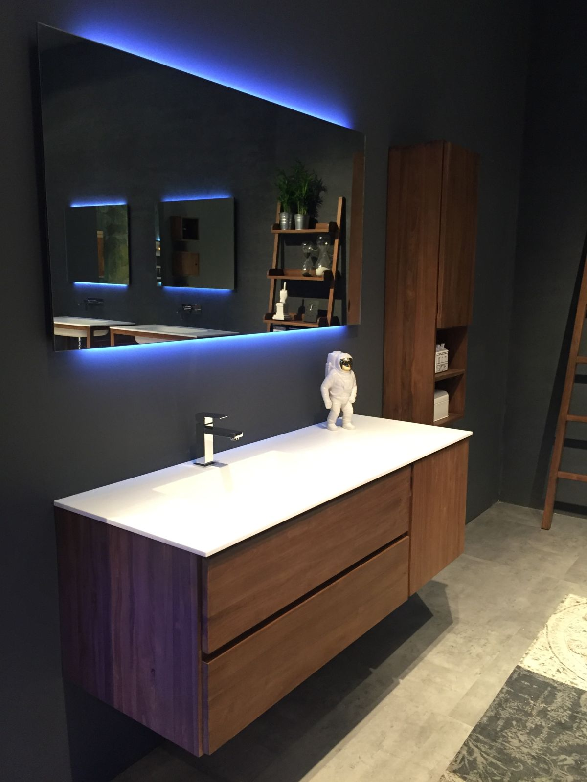 Floating Wood Bathroom Vanity