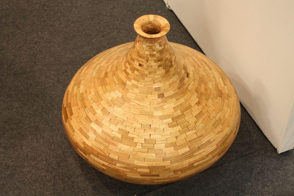 Floor Rattan vases