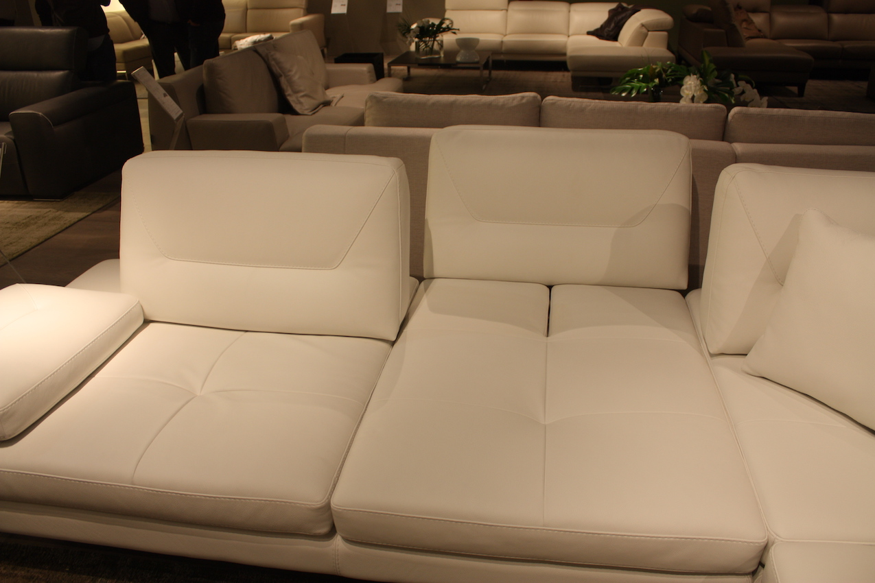 Franco Ferri leather sofa