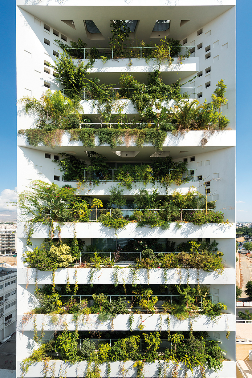 Blooming buildings bring nature into the city for Balcony nicosia