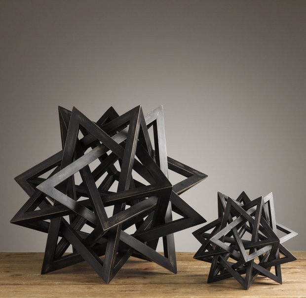 Geometric Sculpture Pieces