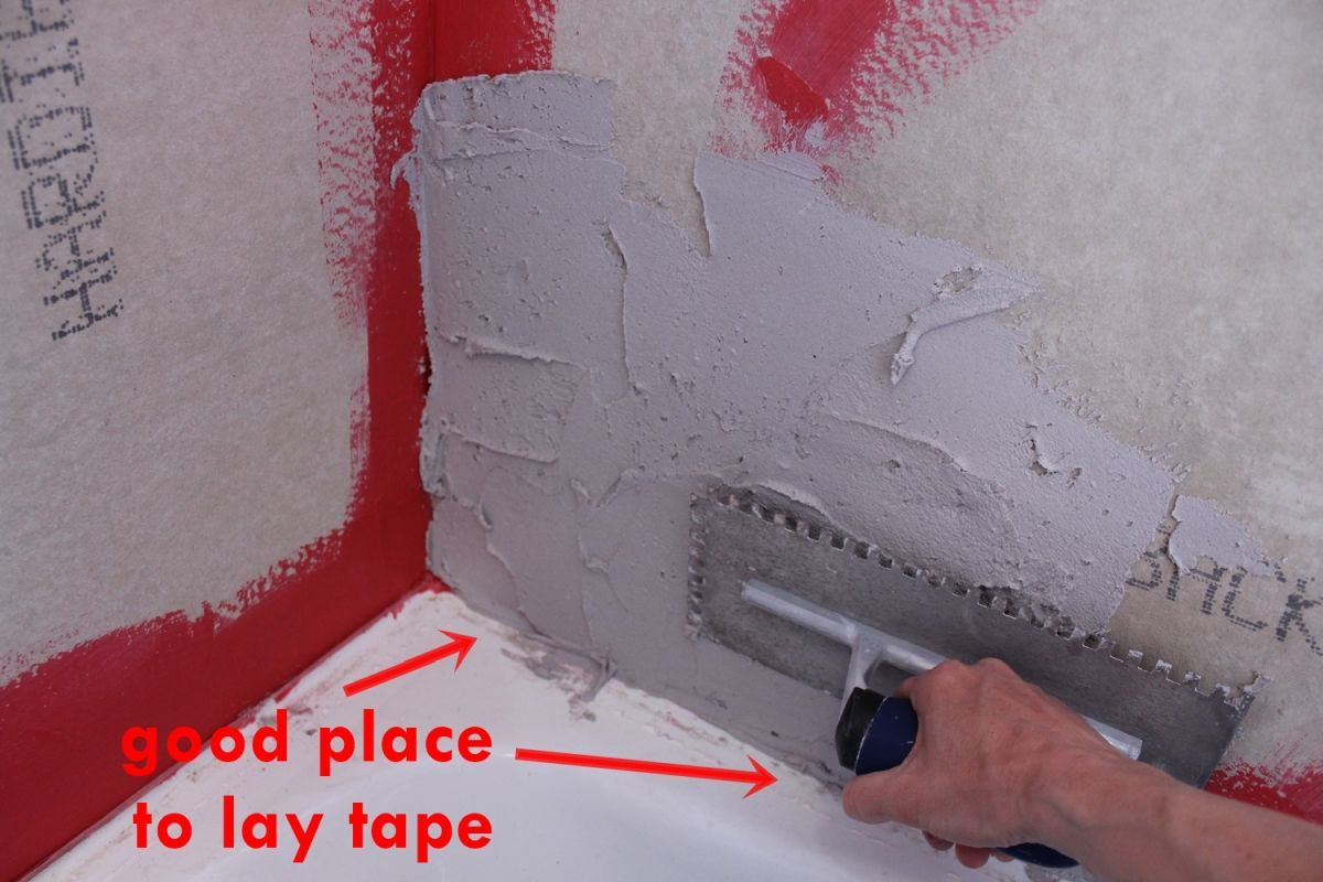 Good place to lay tape