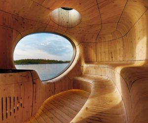 Cool Saunas Let Steam Lovers Sweat It Out In Style