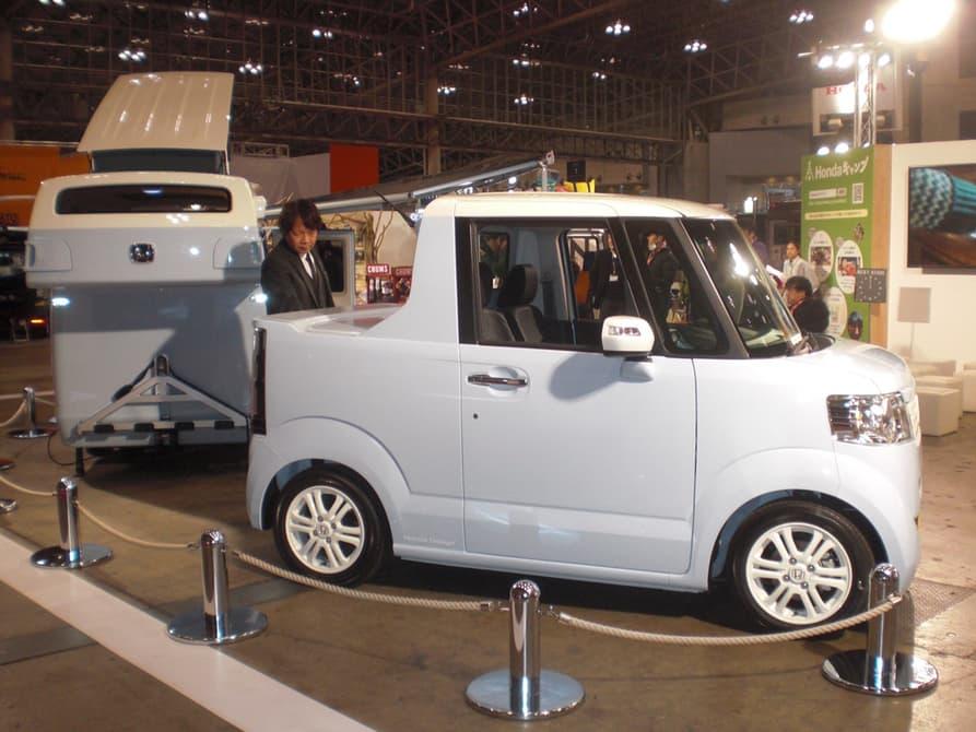 Honda camping