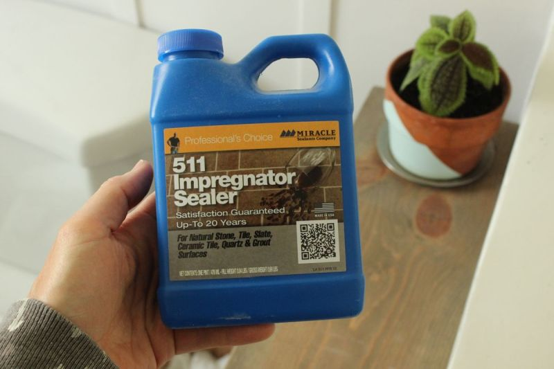 Impregnator sealer for tiles