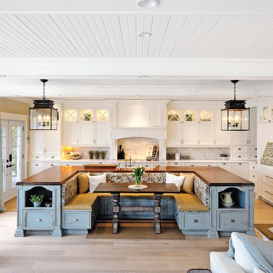 large kitchen with island these 20 stylish kitchen island designs will you 20308