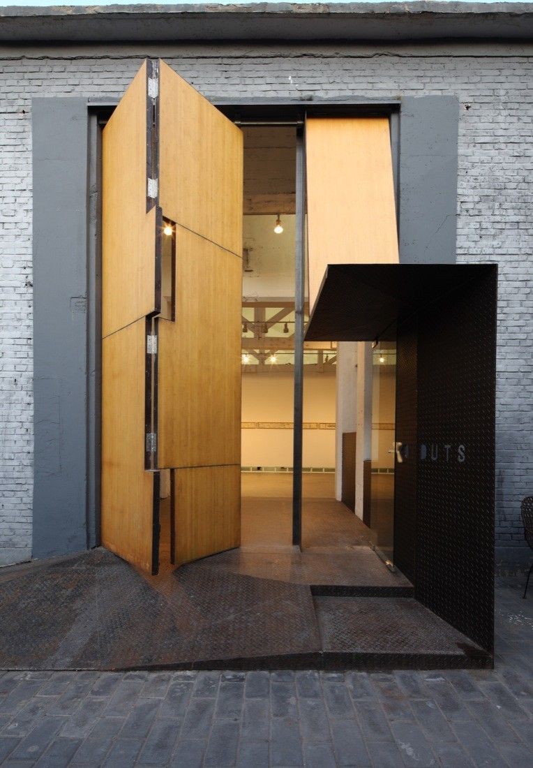 Large Pivot Door Design
