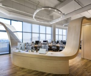 Creative Office Defined By A Single Piece Of Furniture