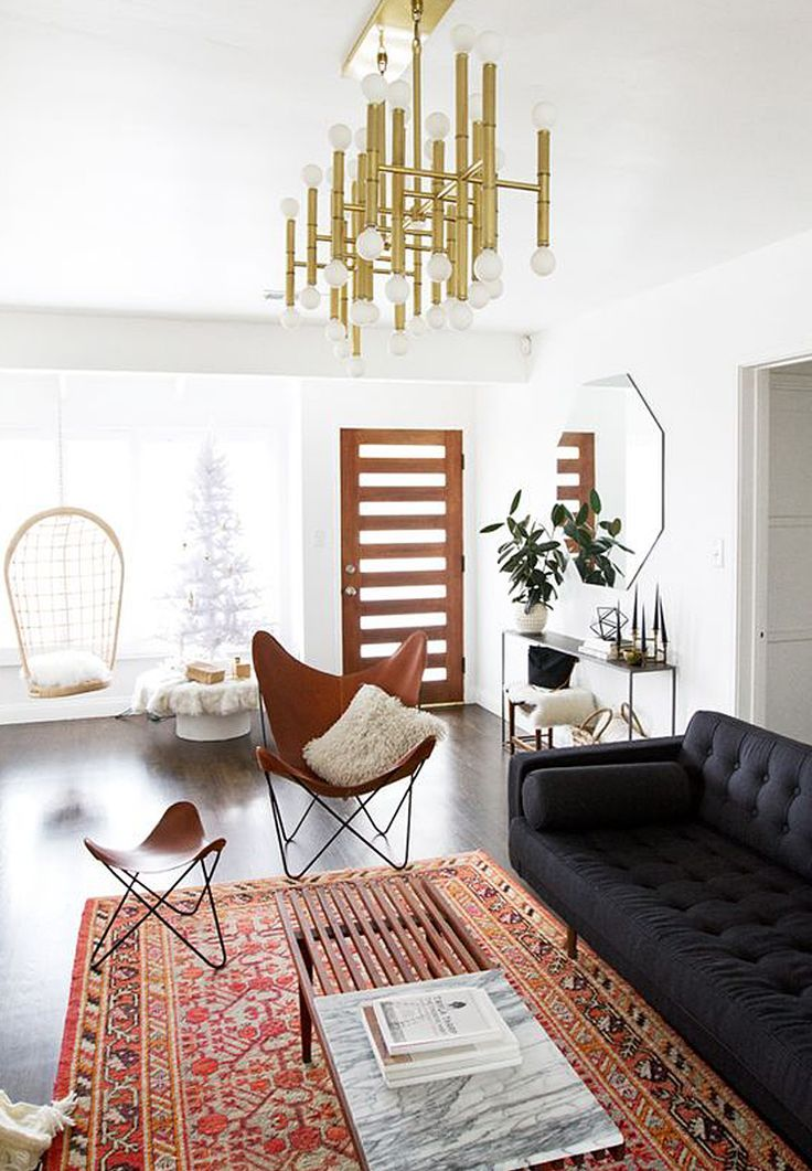 Living room The Leather Butterfly Chair