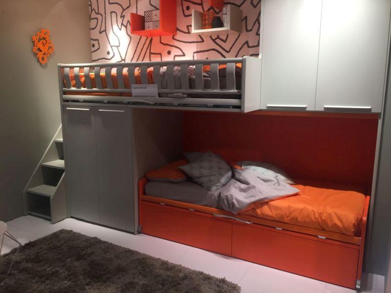 Loft bed designed for kids room