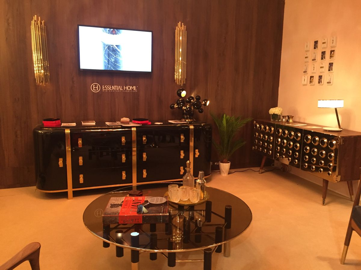 Luxury media unit from esential look