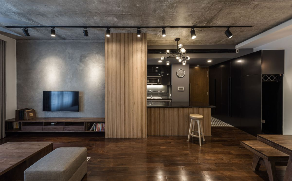 ML Apartment kitchen island