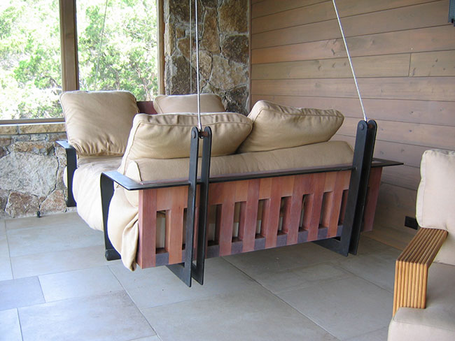 Outdoor porch beds that will make nature naps worth it masculine porch swing design solutioingenieria Image collections