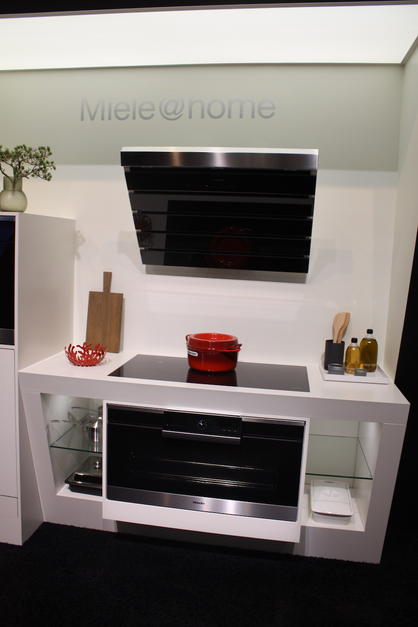 Cappa Miele A Scomparsa stylish options for kitchen hoods from eurocucina