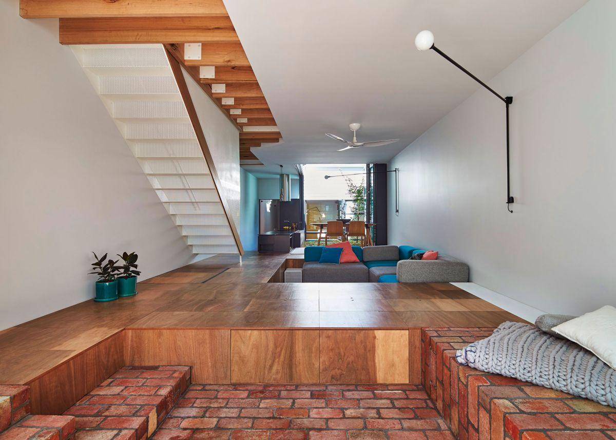 Delightful Mills House Sunken Floor Amazing Ideas