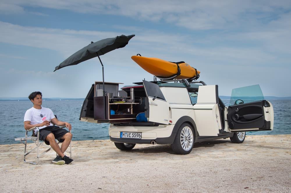 Mini caravan organized