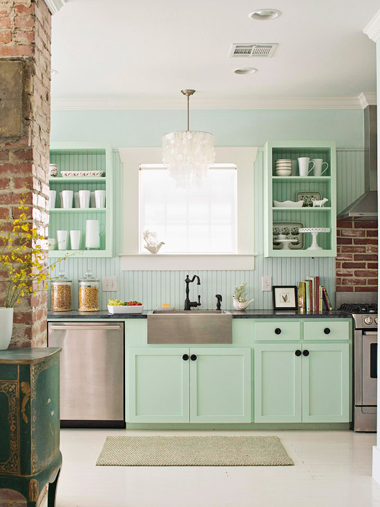 Mint Kitchen Cabinetry