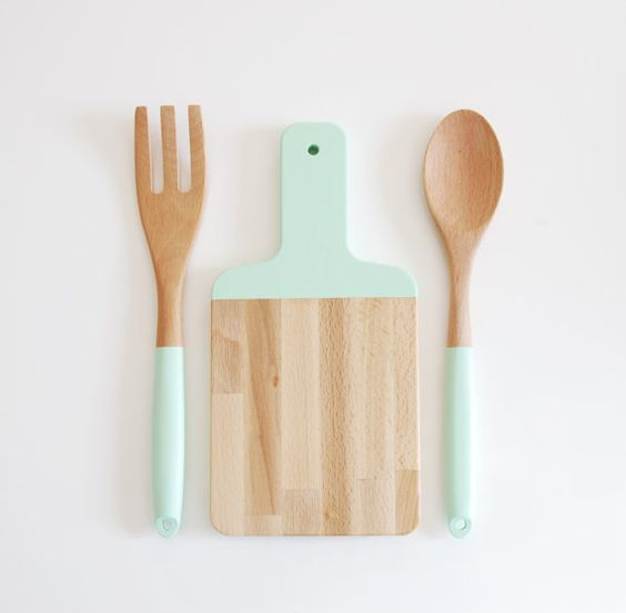 Mint Kitchen Utensils