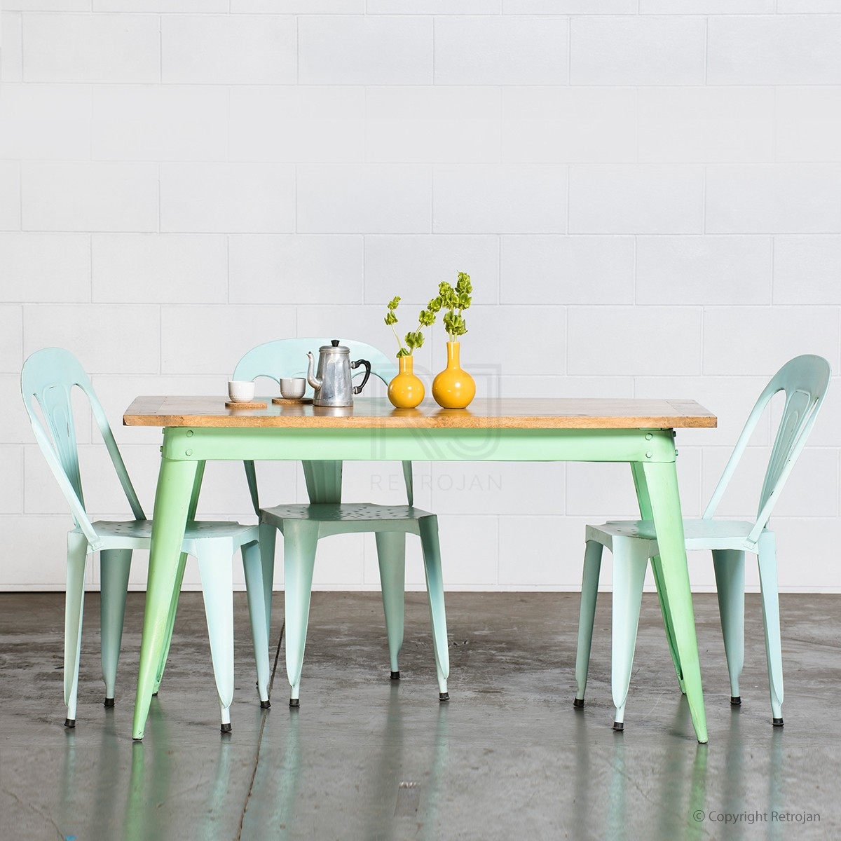 Merveilleux Mint Kitchen Table