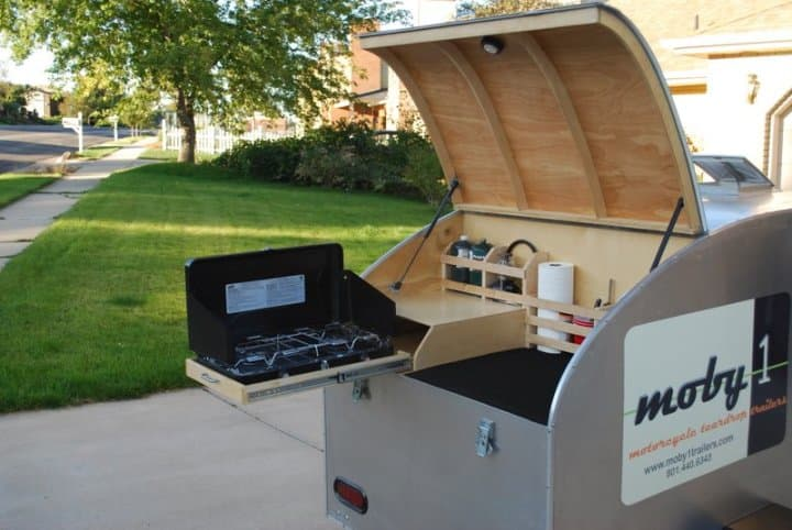 Moby1 expedition trailers grill