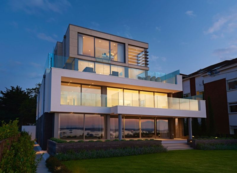 Luxury Apartment Block Built To Resemble A Contemporary House