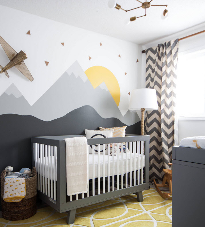 Nursery fun with geometric patterns