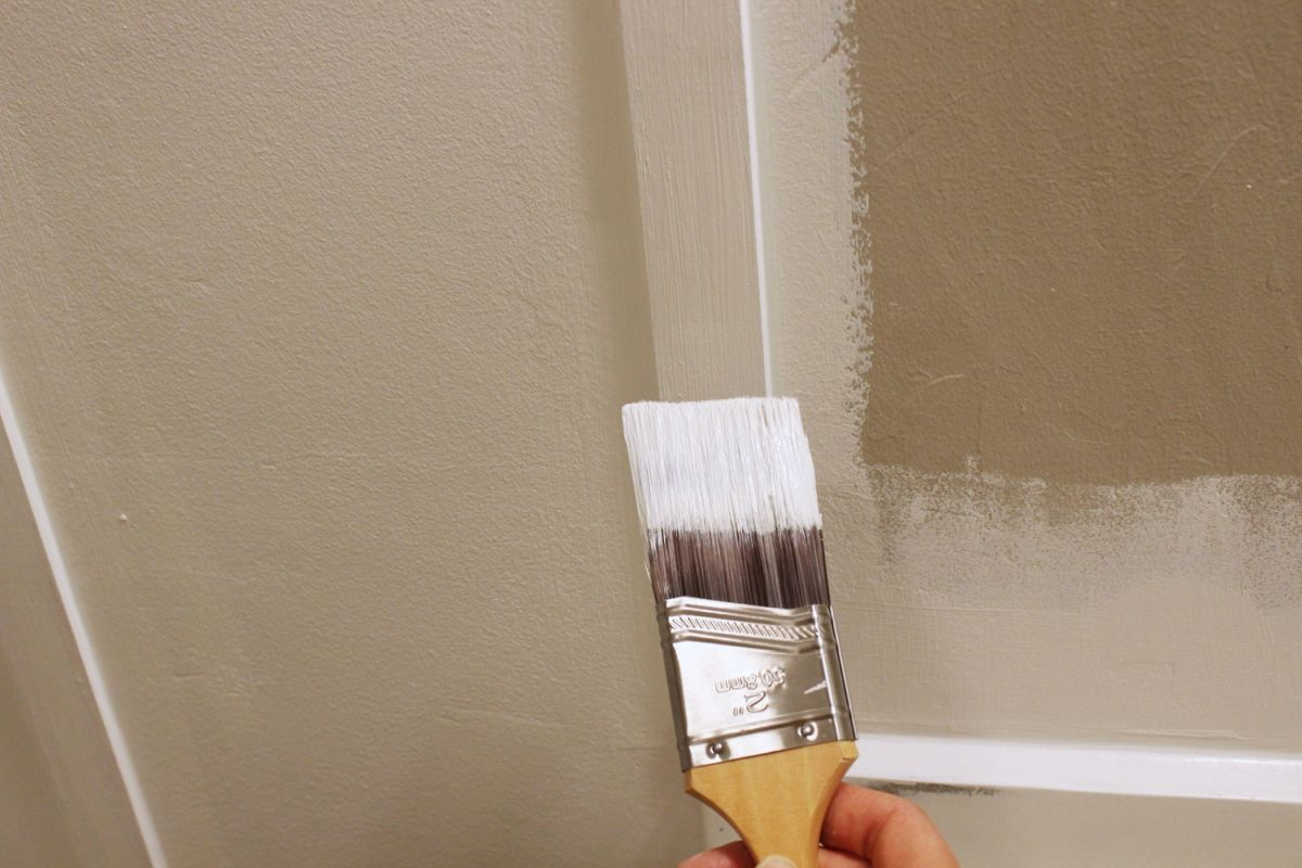 Once your spackling and caulk