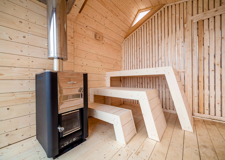 Oslo School of Architecture and Design Sauna interior design