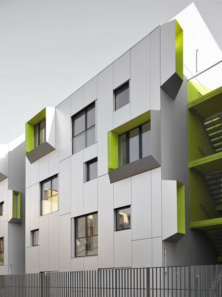 Paris building facade