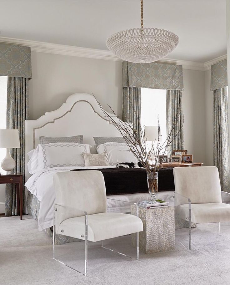 Delicate Bedroom With One Of These Feminine Headboards - Posh bedroom designs