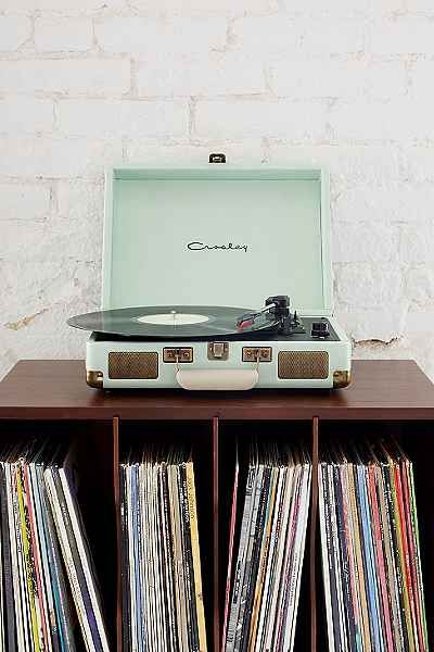Record player in mint