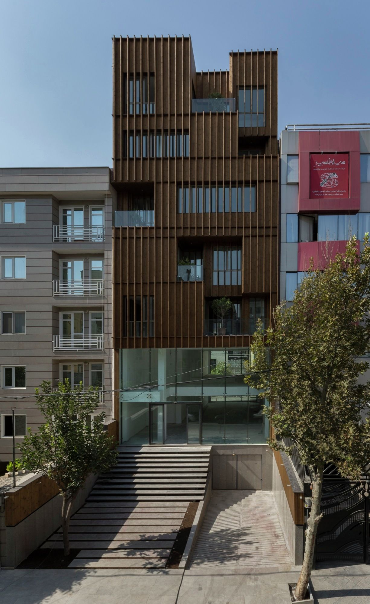 Saadat Abad Commercial Office Building