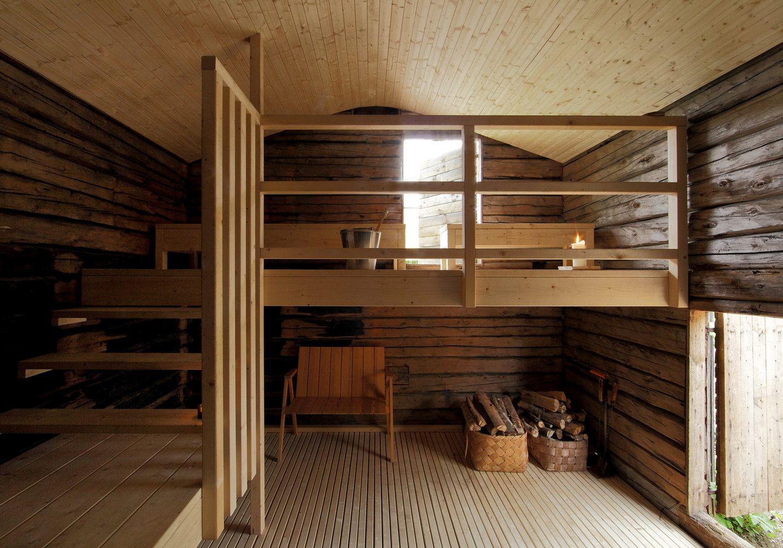 Sauna Tonttu interior design