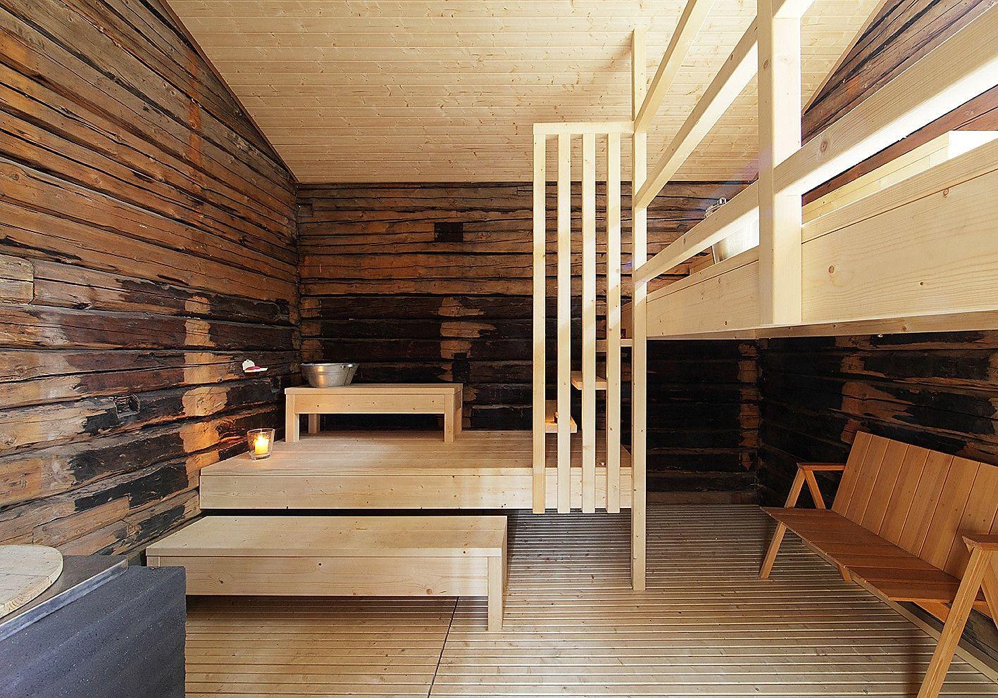 Sauna Tonttu interior