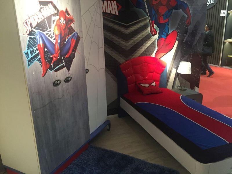 Spiderman themed boy room