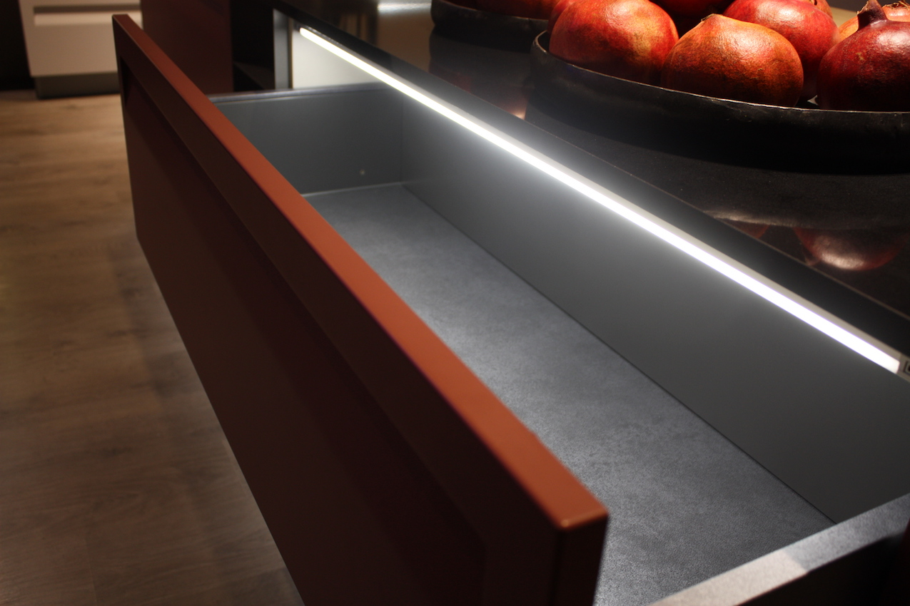 Stosa lighted drawer