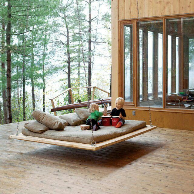 Outside Bed Part - 23: Outdoor Porch Beds That Will Make Nature Naps Worth It