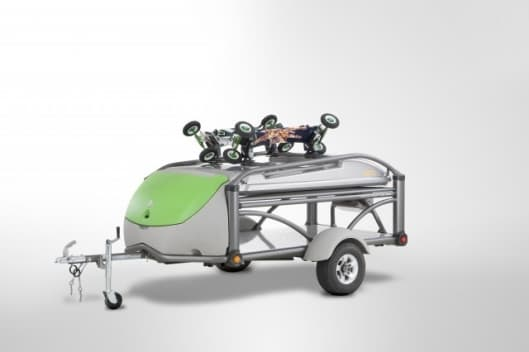 Sylvan Sports GO multi-mode trailer design