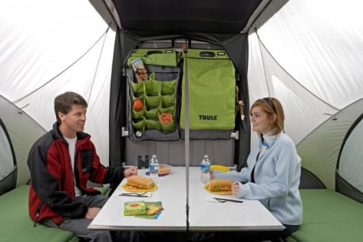 Sylvan Sports GO multi-mode trailer interior