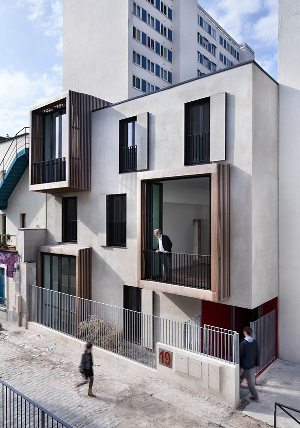Tetris social housing and artist studios