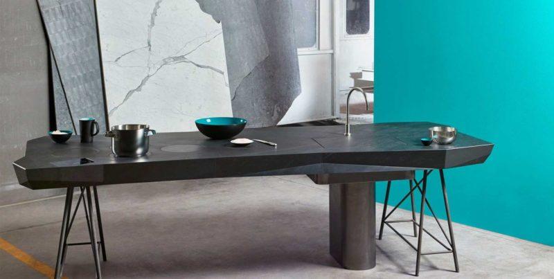 Smart Kitchen Concept Introduces A Drop-Down Sink Design
