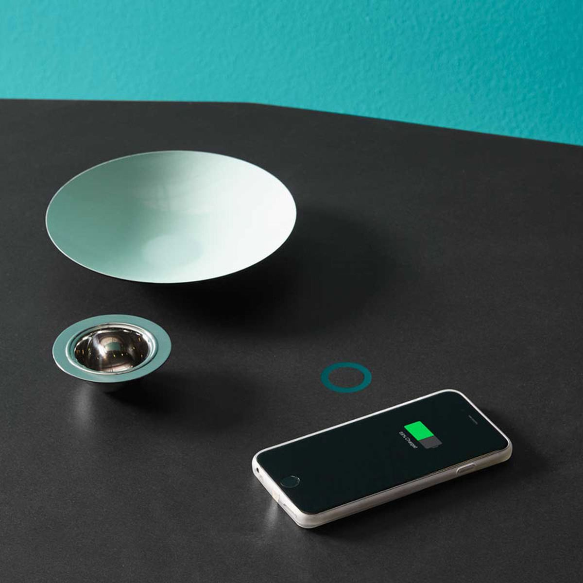 Tuler kitchen island wireless charging
