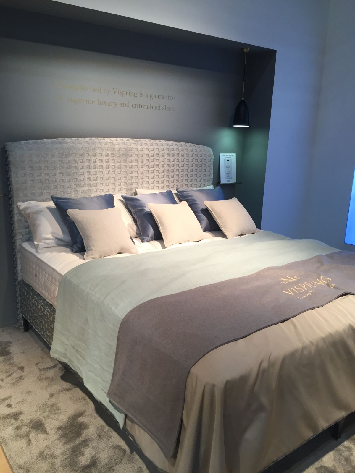 Vispring luxury beds