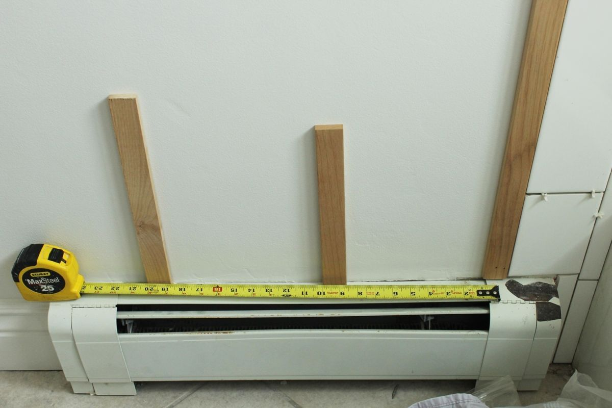 measure the width of your wall